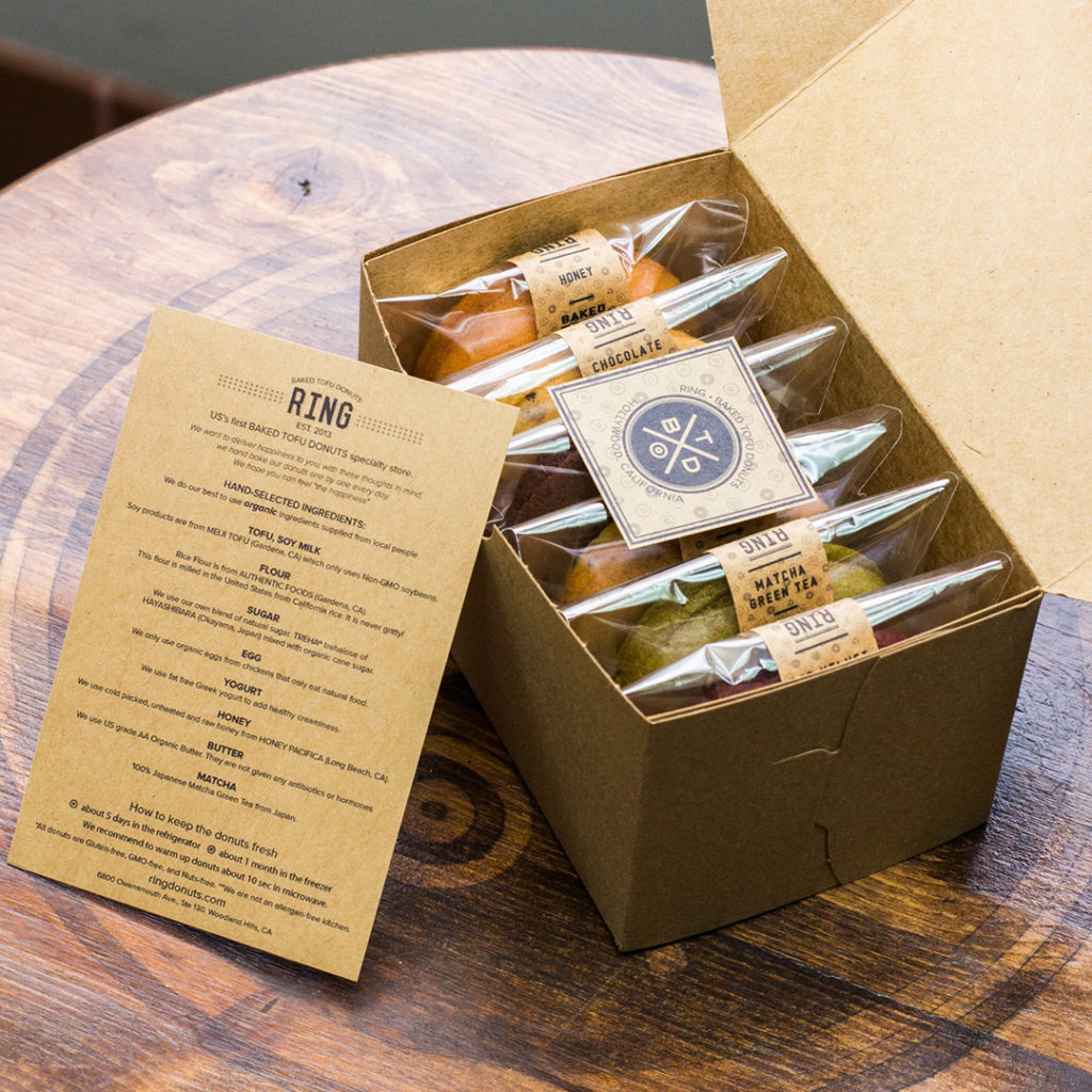 RING Baked Tofu Donuts | Los Angeles Business Review